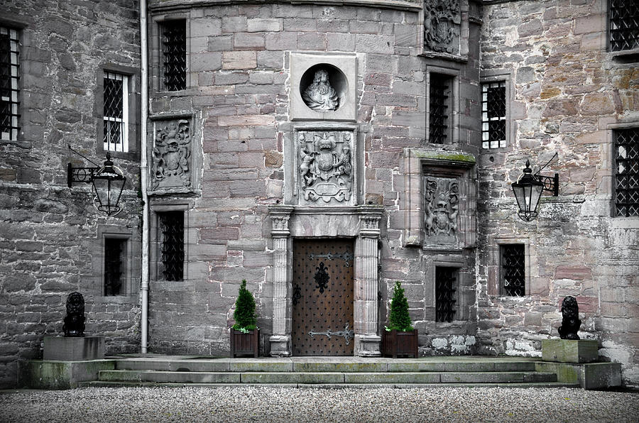 Glamis Photograph - Glamis Castle. Doorway by RicardMN Photography