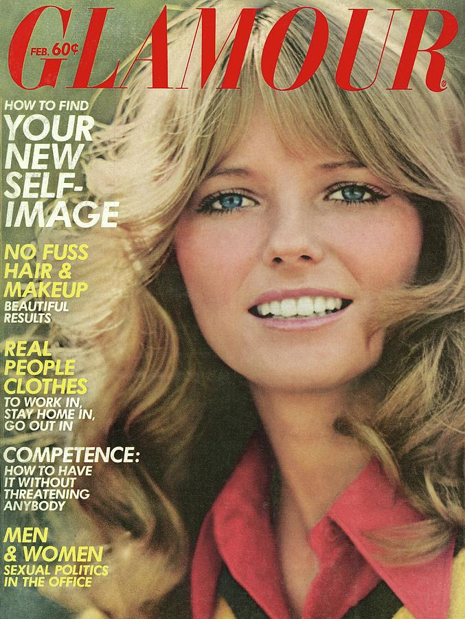Glamour Cover Featuring Cheryl Tiegs Photograph by William Connors