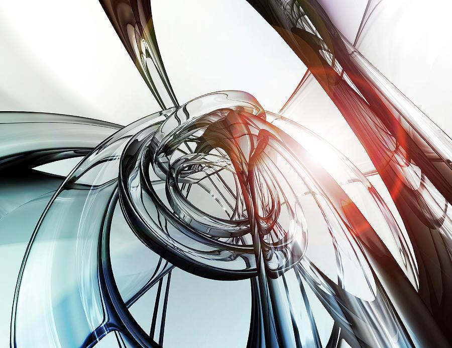 Glass 02 Photograph by Mina De La O