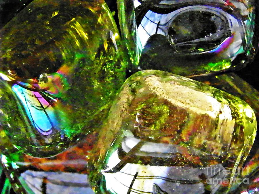 Abstract Photograph - Glass Abstract 119 by Sarah Loft