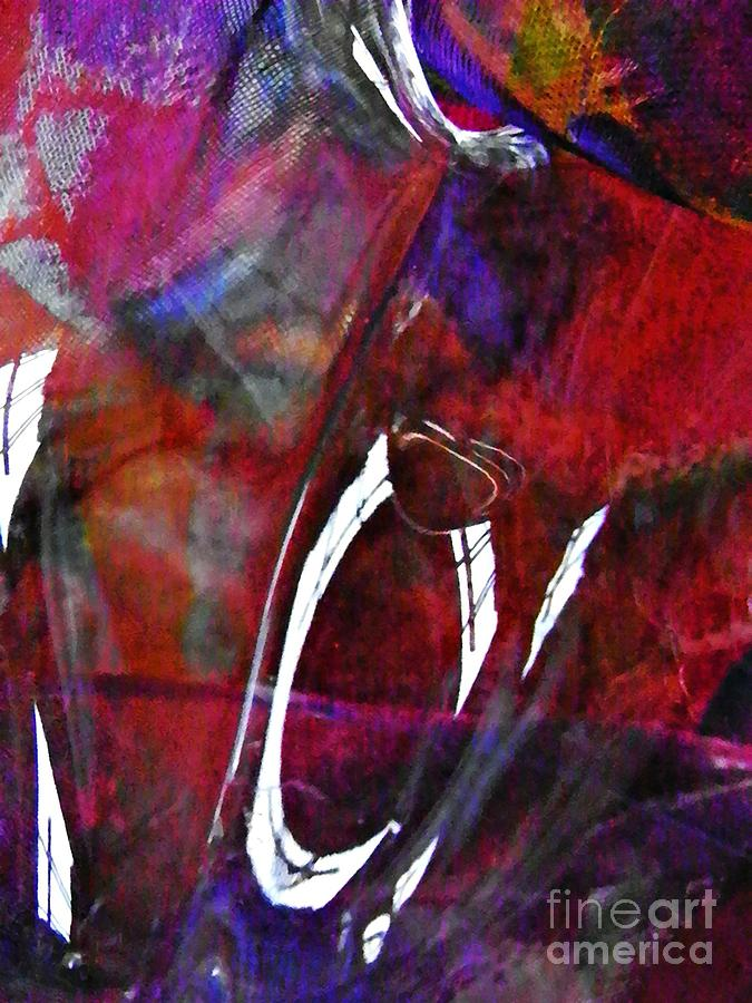 Abstract Photograph - Glass Abstract 189 by Sarah Loft