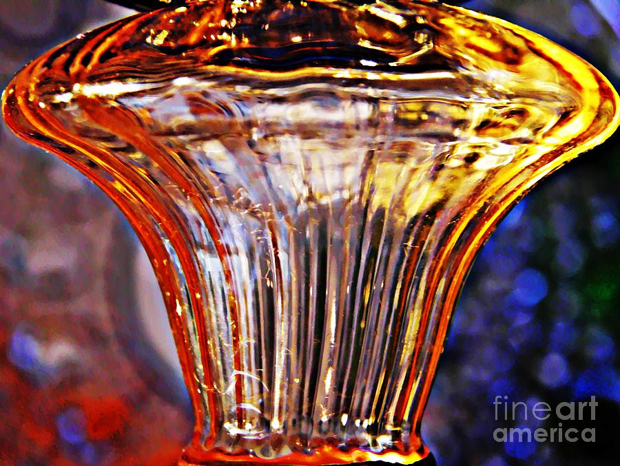 Abstract Photograph - Glass Abstract 562 by Sarah Loft