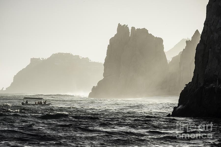 Cabo San Lucas Photograph - Glass Bottom Boat by Richard Mason