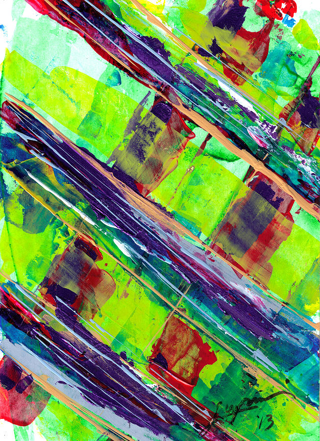 Glass Bridge Painting by Thomas Lupari