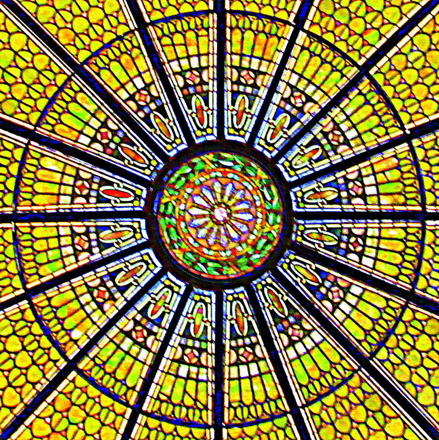 Glass Ceiling Photograph - Glass Ceiling 1 by Randall Weidner