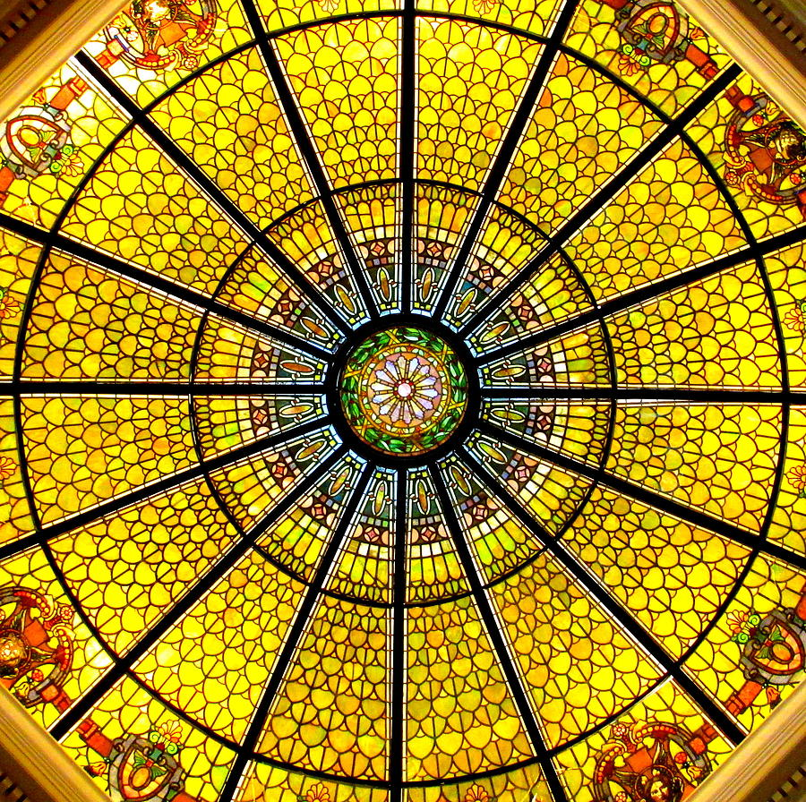 Glass Ceiling Photograph - Glass Ceiling 2 by Randall Weidner