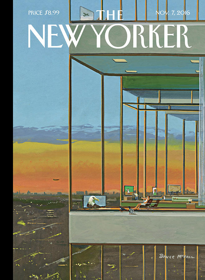 Glass Houses Painting by Bruce McCall