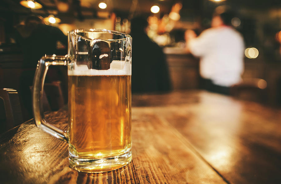 Glass Of Bier, Brewery In Germany Photograph by Moreiso