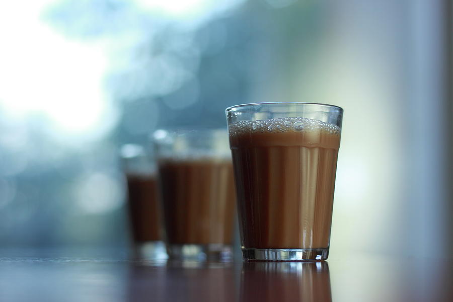 Glass Of Chai Photograph by All Images Belong To Cynthia Sapna.