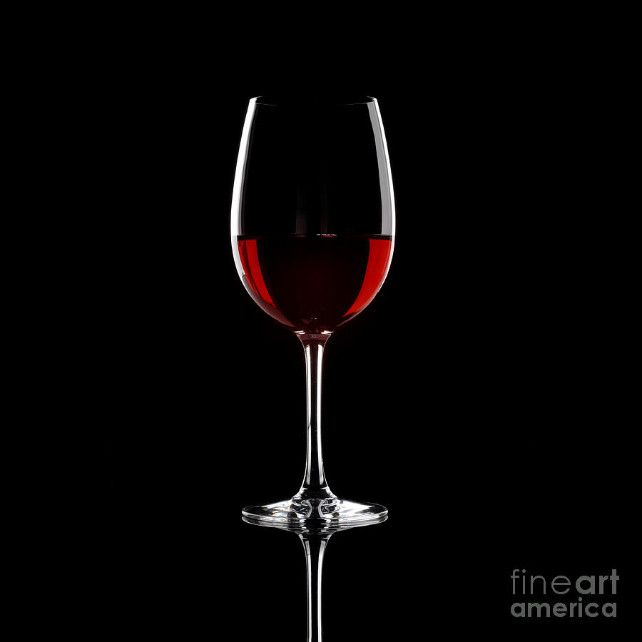 Red wine photography