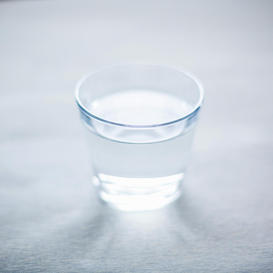 Glass Of Water Photograph by Steven Errico