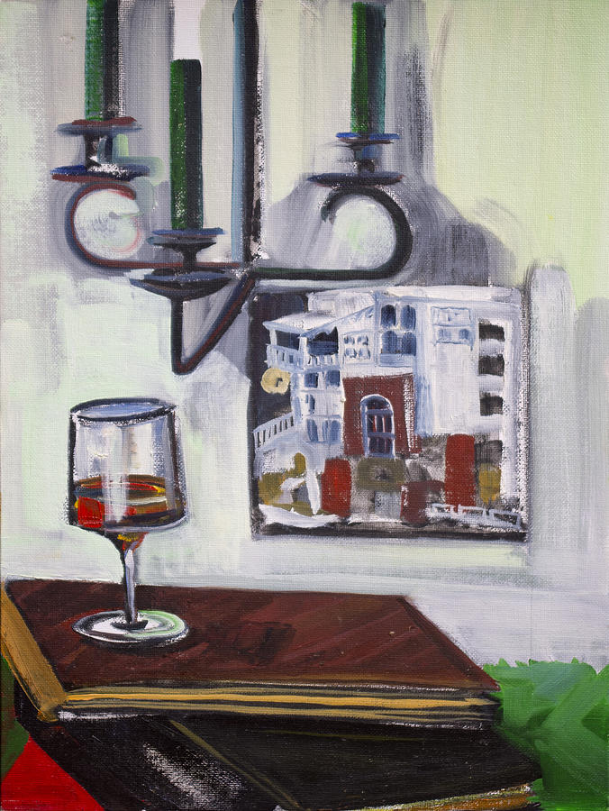 Glass of Wine by Richard Fritz