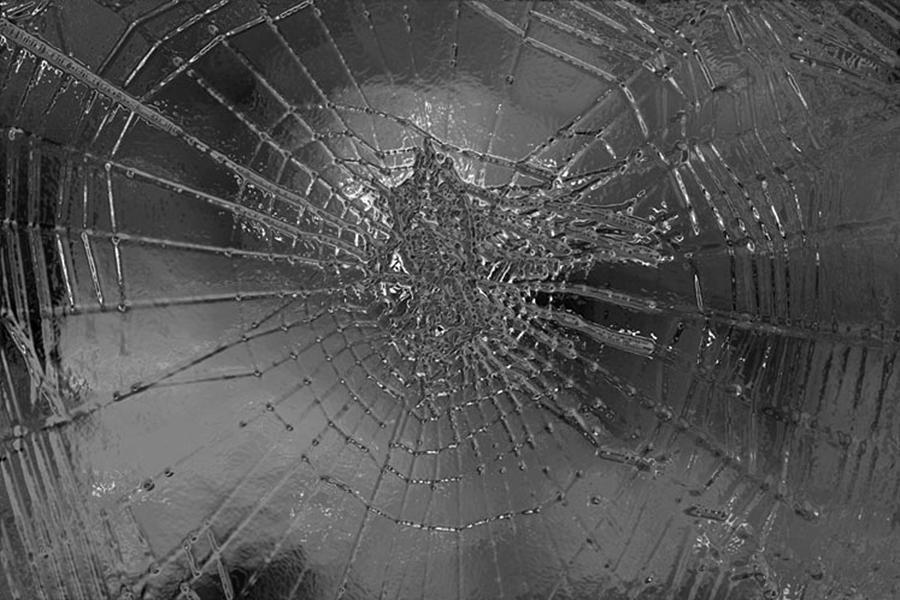 Spider Digital Art - Glass Spider by Carol Lynch