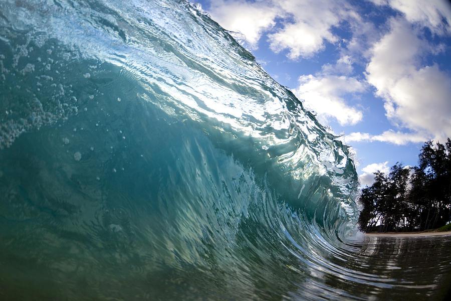 Surge Photograph - Glass Surge by Sean Davey