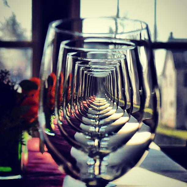 Glasses Pyrography - Glass Way by Sandeep Joshi