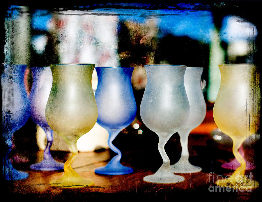 Glassware Photograph by Bobbi Feasel