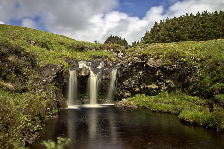 Glen Photograph - Glen Brittle by David Pringle