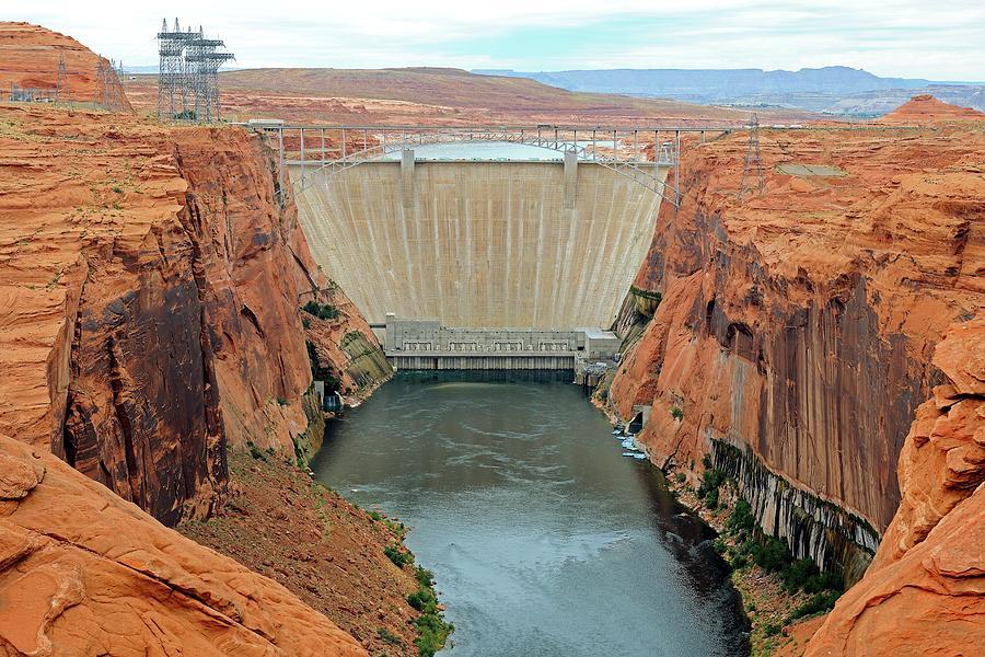 Environment Photograph - Glen Canyon Dam by Bildagentur-online/mcphoto-schulz