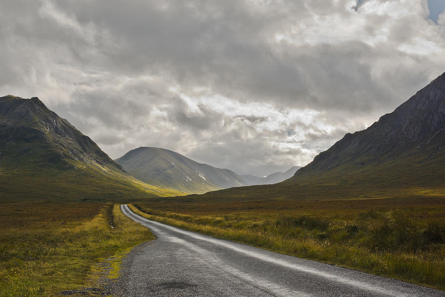 Scotland Photograph - Glen Etive In The Scottish Highlands by Jane McIlroy