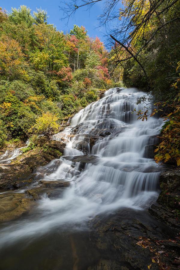 Glen Falls North Carolina Vertical Photograph