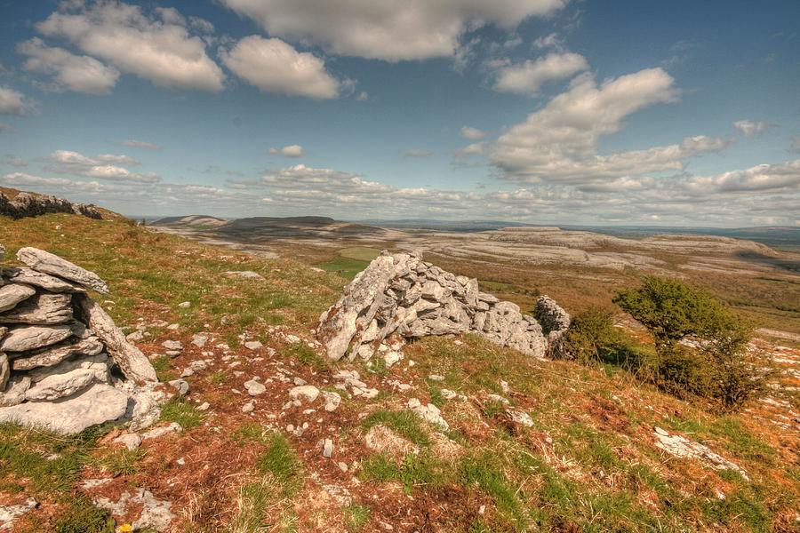 Ballyvaughan Photograph - Glen Hill View by John Quinn