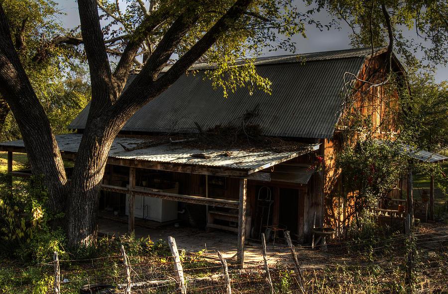 Glen Rose Farmhouse Photograph