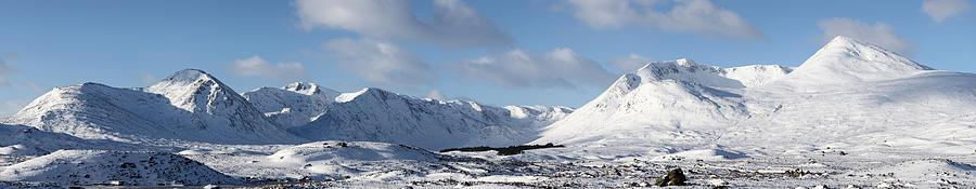 Glencoe Photograph - Glencoe Panorama by Grant Glendinning