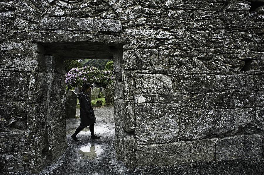 Ireland Photograph - Glendalough Ireland by Sean Weaver