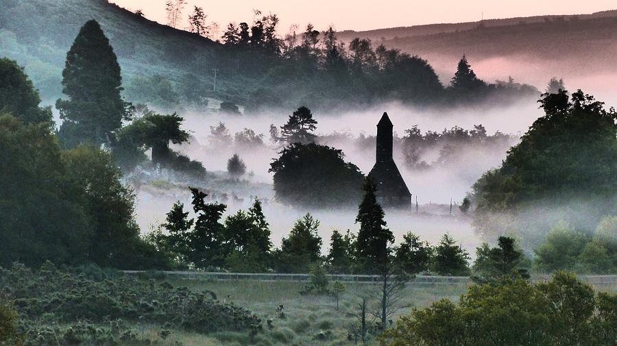 Glendalough Mist by Nigel Cameron