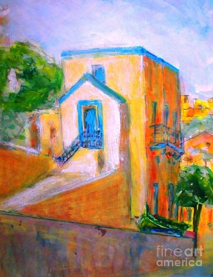 Gozo Painting - Gleneagles Gozo by Marco Macelli