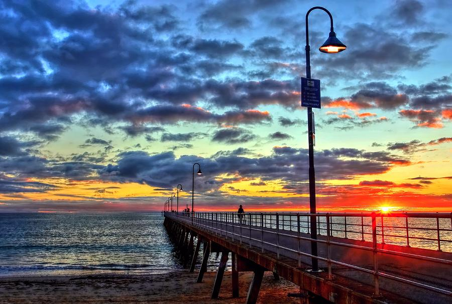 Glenelg Jetty by Paul Svensen