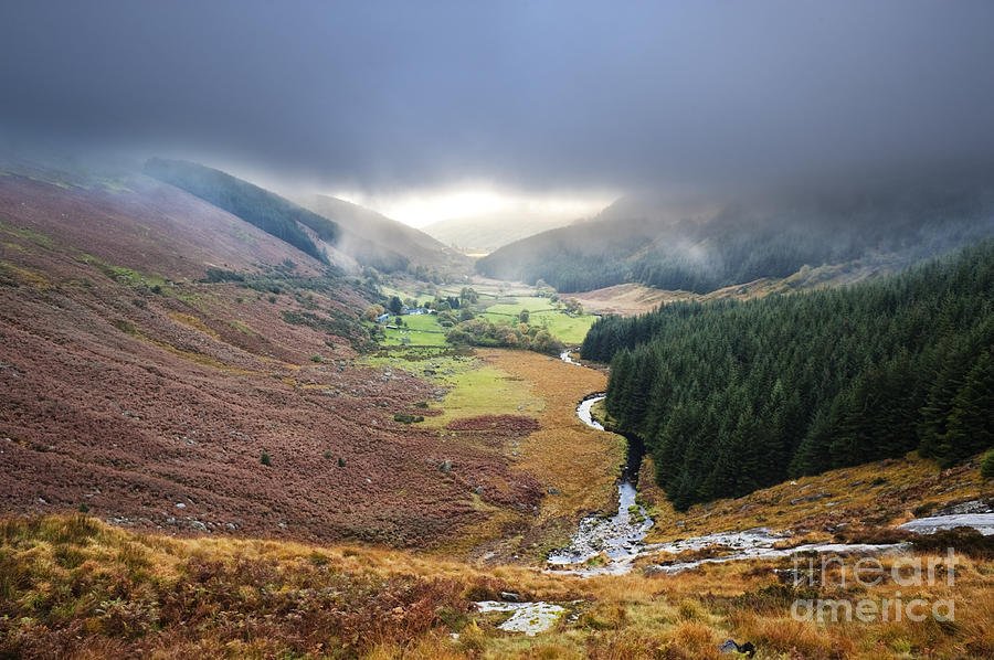 Wicklow Photograph - Glenmacnass 1 by Michael David Murphy