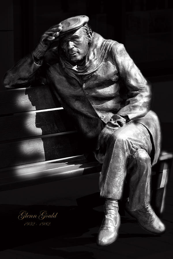 Pianist Photograph - Glenn Gould by Andrew Fare