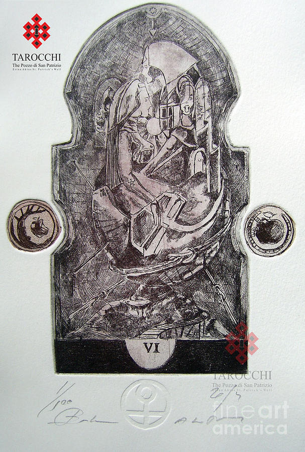 The Lovers Drawing - Gli Amanti by Ertan Aktas