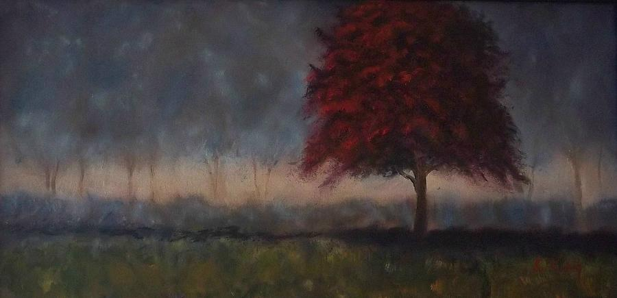 Trees Painting - Glimmer by Stephen King