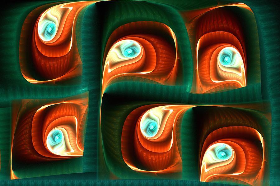 Computer Digital Art - Glimpses by Anastasiya Malakhova