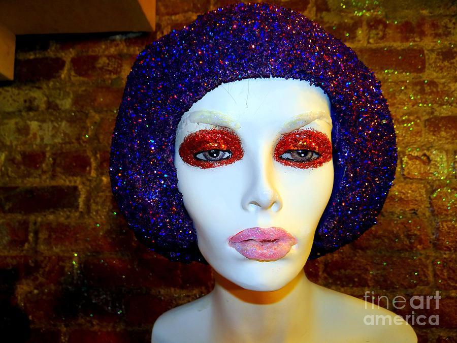 Mannequins Photograph - Glitter Gal by Ed Weidman