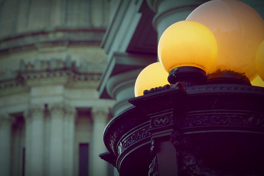Globe Photograph - Global Lighting by Patricia Strand