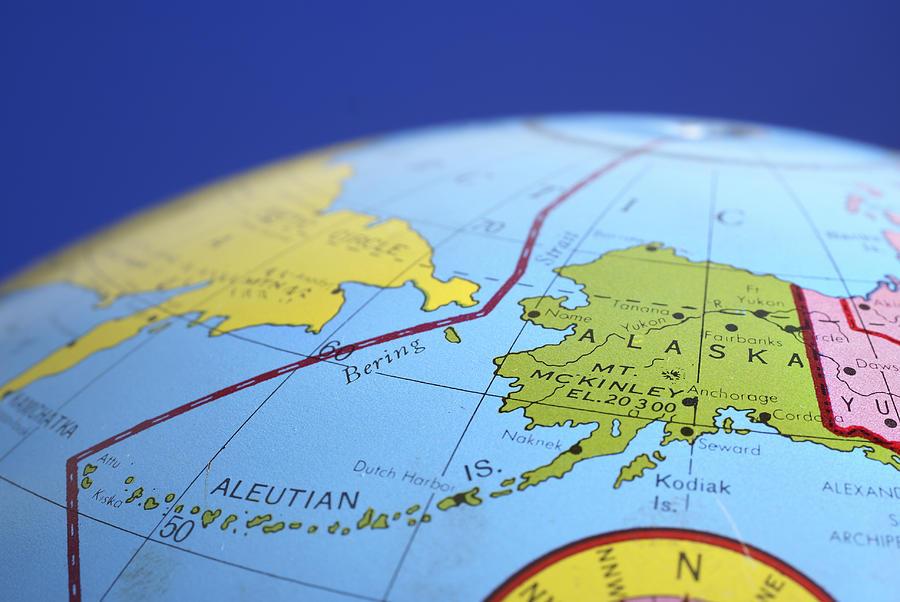 Global Map Alaska