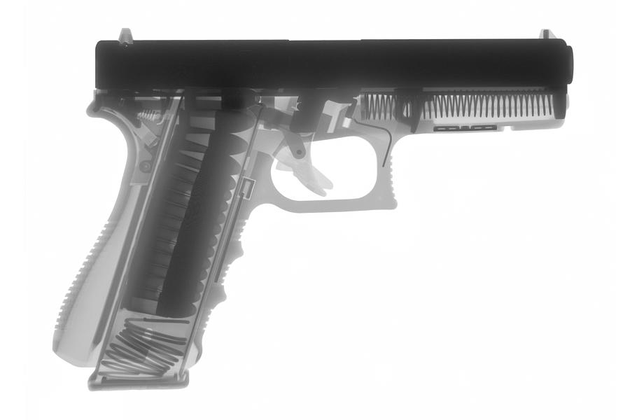Antique Firearms Photograph - Glock G17 by Ray Gunz