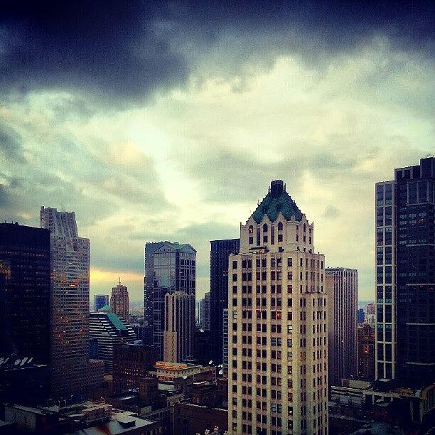 Chicago Photograph - Gloomy Day Out There by Jill Tuinier