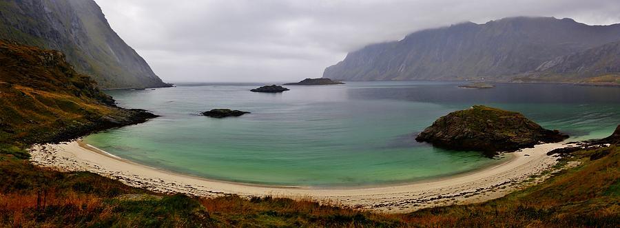 Gloomy Norse Atlantic Fjordland Photograph