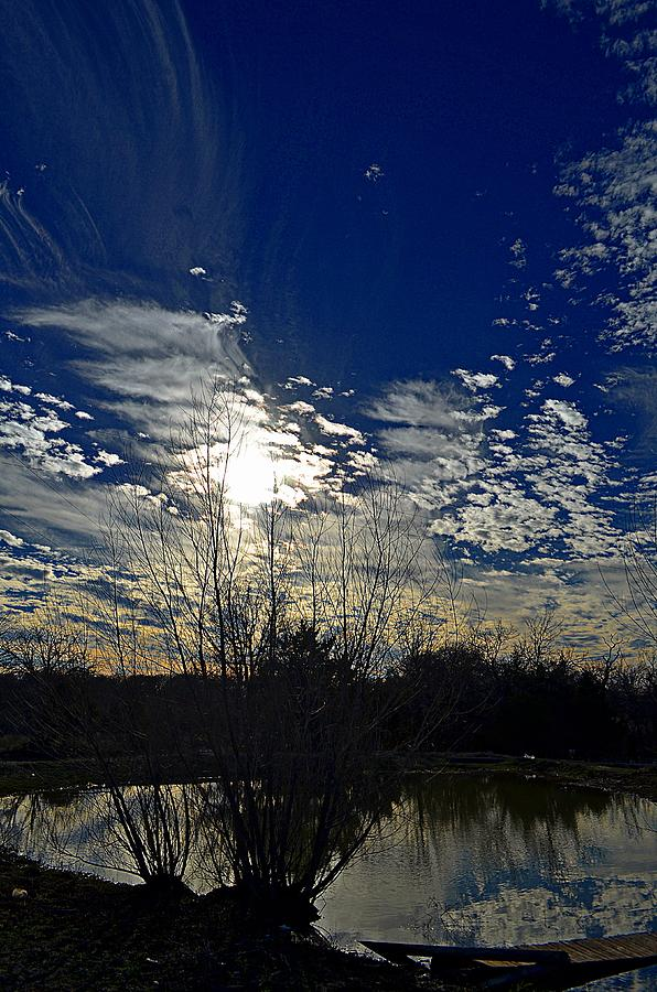 Reflection Photograph - Glorious Reflection by Kelly Kitchens