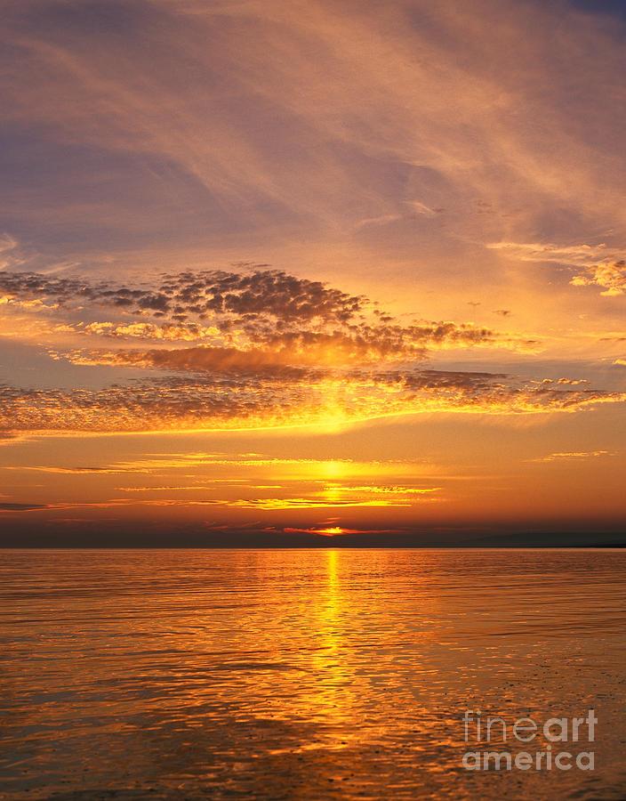 Dorset Photograph - Glorious Sunset by Lana Enderle