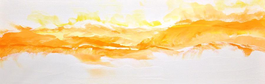 Faith Painting - Glory Be by Linda Bailey