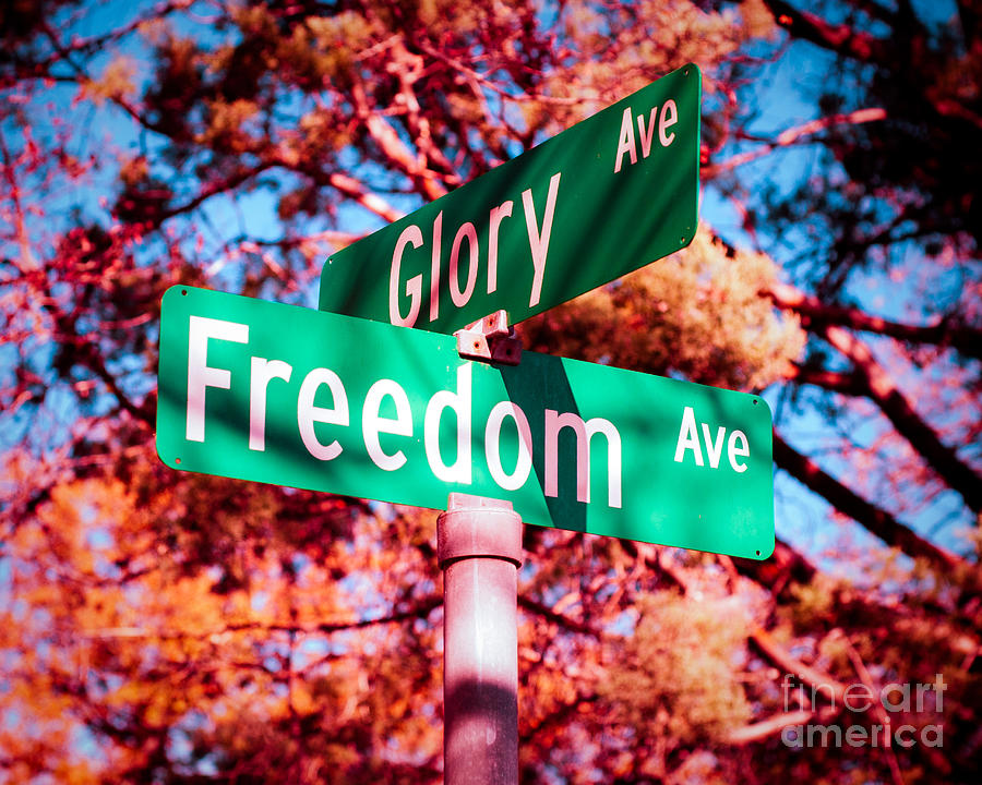 Glory Photograph - Glory Signs by Sonja Quintero