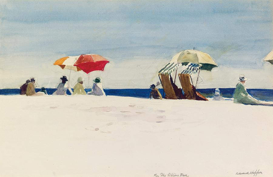 Edward Hopper Painting - Gloucester Beach by Edward Hopper