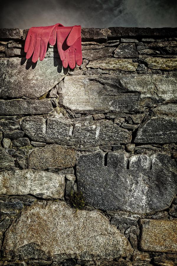 Glove Photograph - Gloves by Joana Kruse