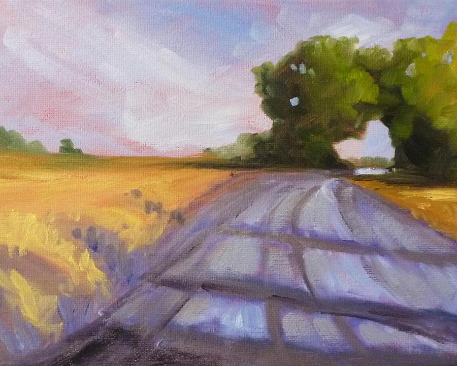 Oregon Painting - Glow by Nancy Merkle