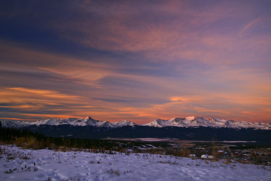 Colorado Photograph - Glow Of Morning by Jeremy Rhoades